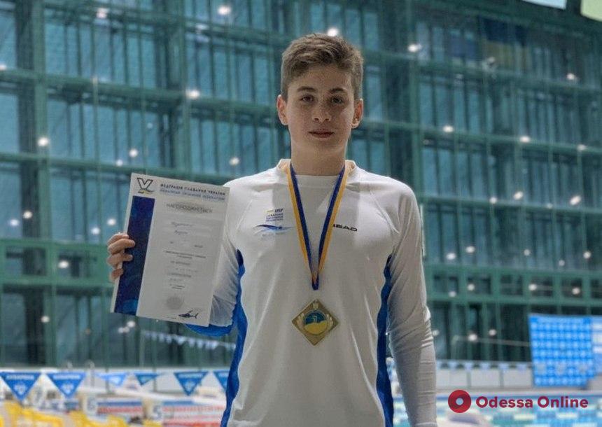 Одесский пловец стал чемпионом Украины, установив новый национальный рекорд