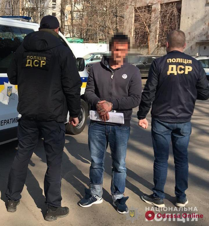 В Одесской области при попытке незаконно пересечь границу задержали убийцу