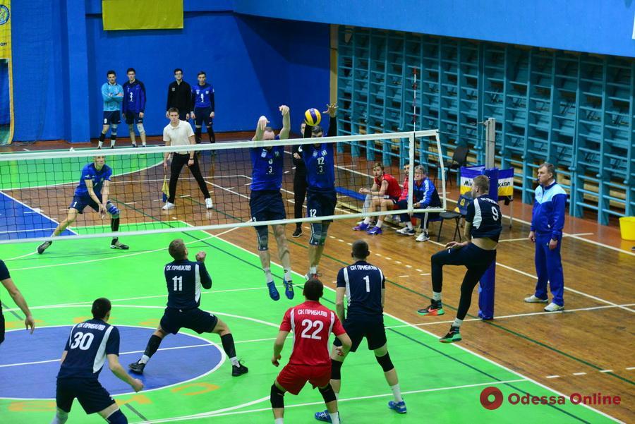 Одесские волейболисты вышли на третье место в турнирной таблице чемпионата Украины