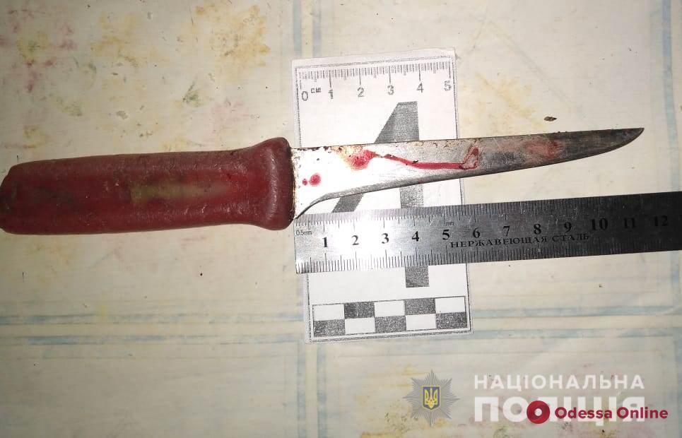 Житель Одесской области ранил супругу ножом в шею