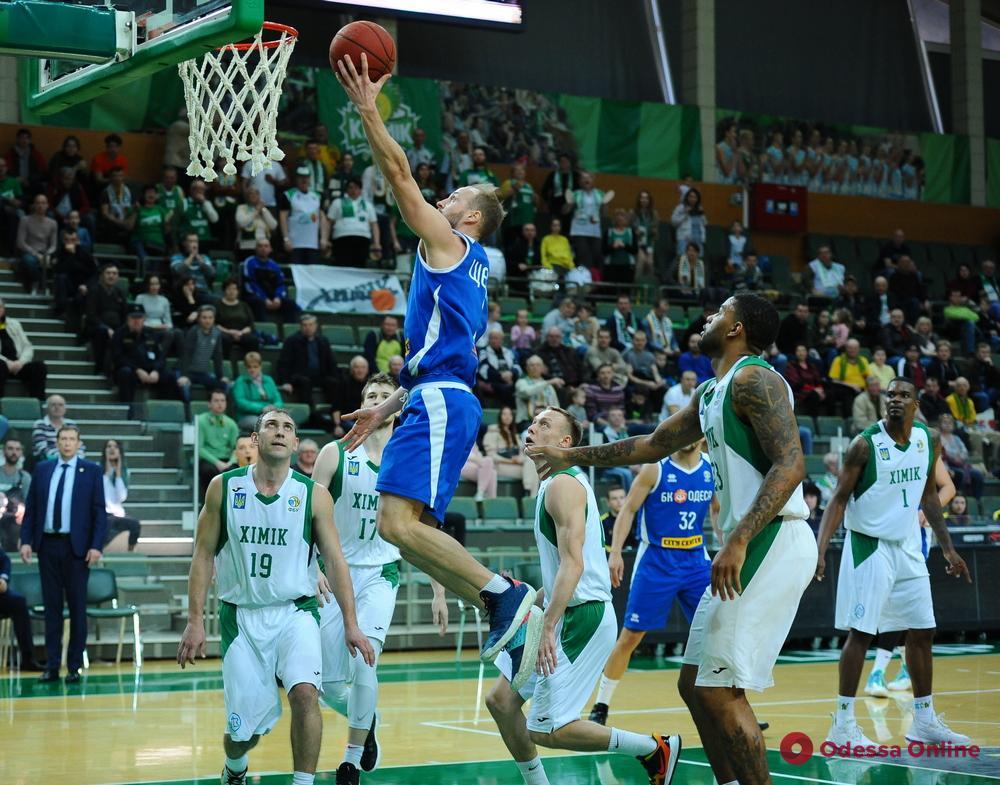 Баскетбол: «Химик» обыграл «Одессу» в четвертом областном дерби сезона