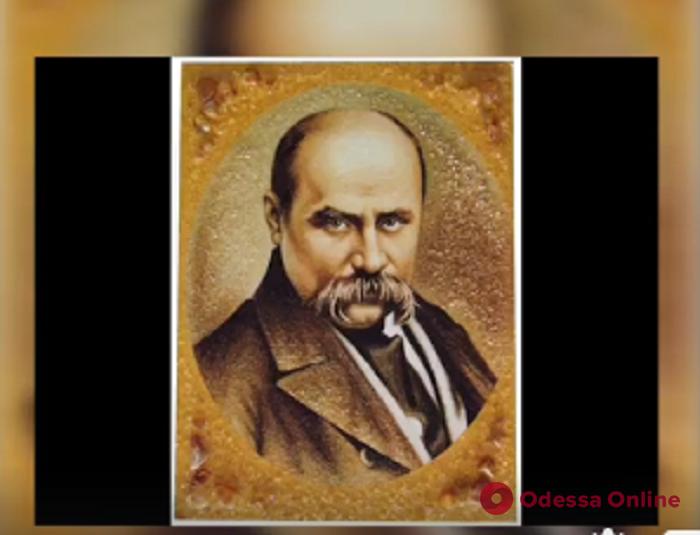 Одесские патрульные устроили в день рождения Кобзаря литературный флешмоб (видео)