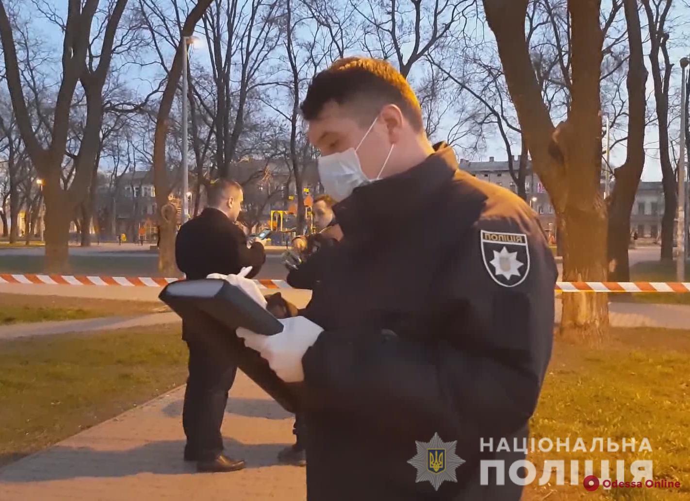 Убийство в Старосенном сквере: полиция задержала подозреваемого