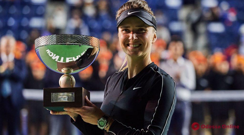 Теннис: уроженка Одессы выиграла свой первый титул за полтора года