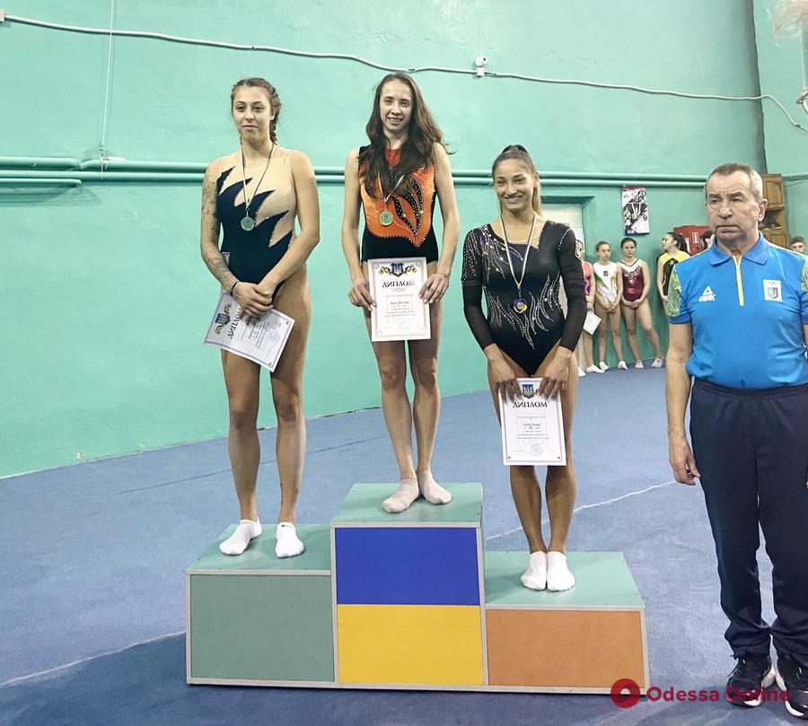 Прыжки на батуте: одесситы завоевали четыре медали чемпионата Украины