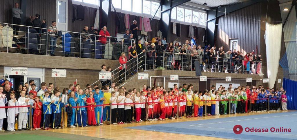 Ушу: сборная Одесской области завоевала шесть десятков медалей чемпионатов Украины