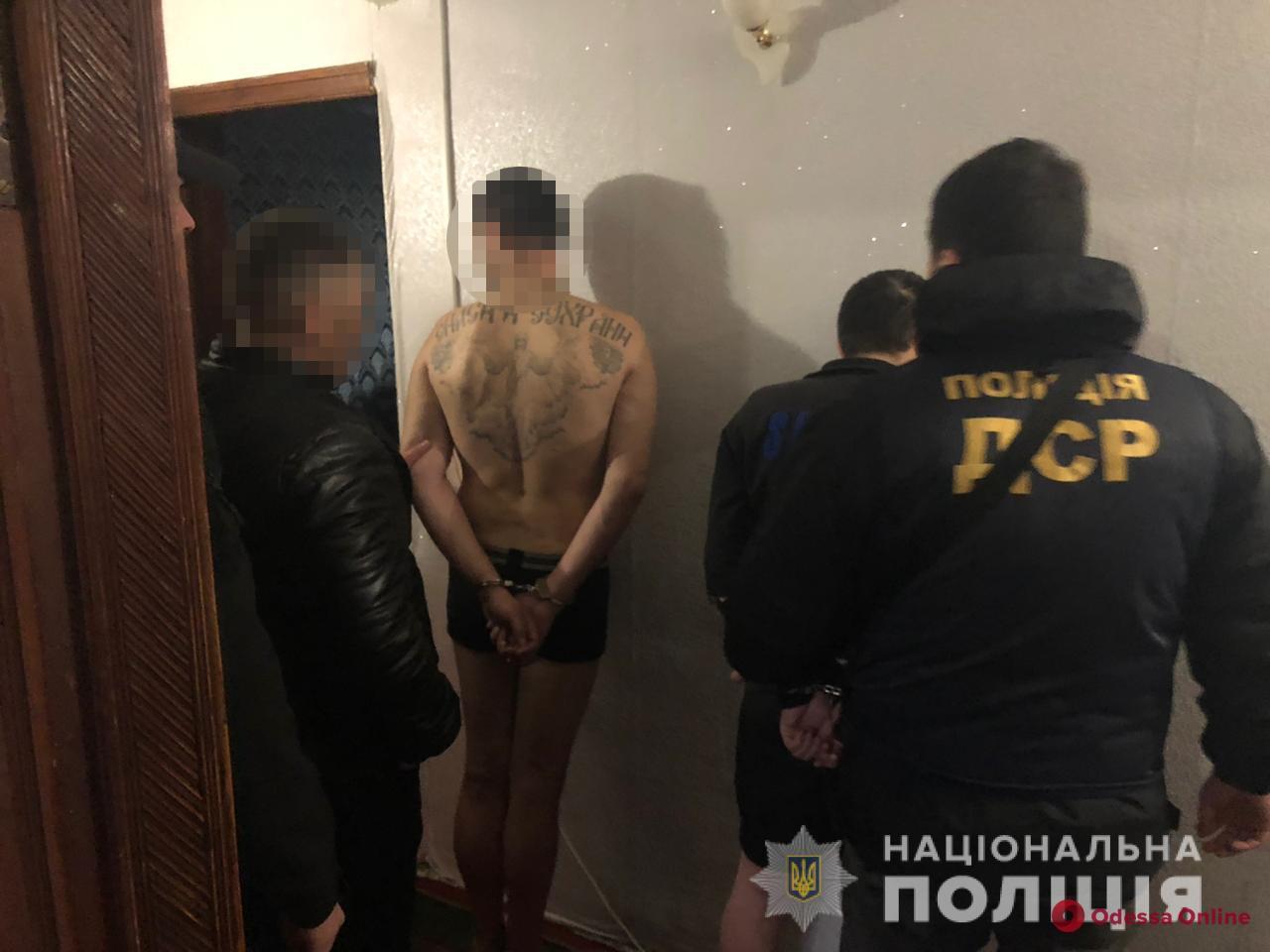 В Одессе задержали организатора и членов преступной этногруппировки