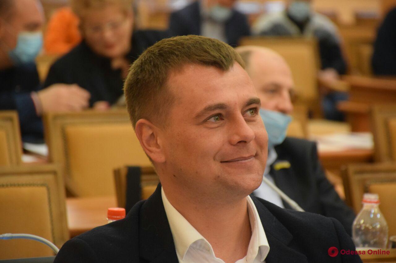 Сессия Одесского горсовета в масках (фоторепортаж)