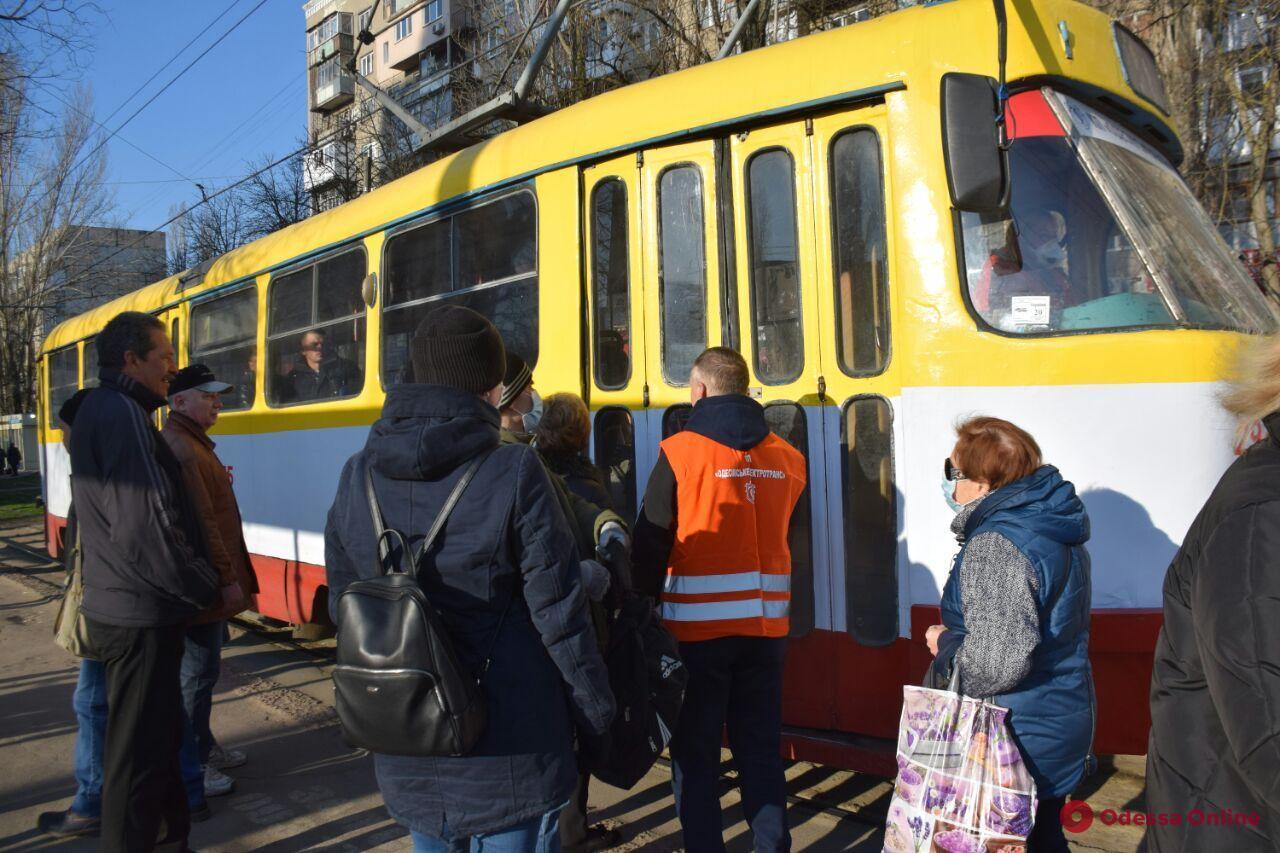 В Одессе на время карантина отменят бесплатный проезд в общественном транспорте (видео)