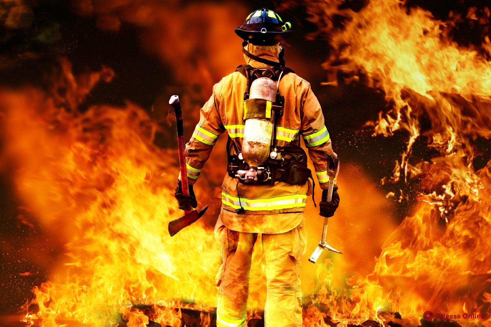 Житель Одесской области погиб во время пожара в своем доме