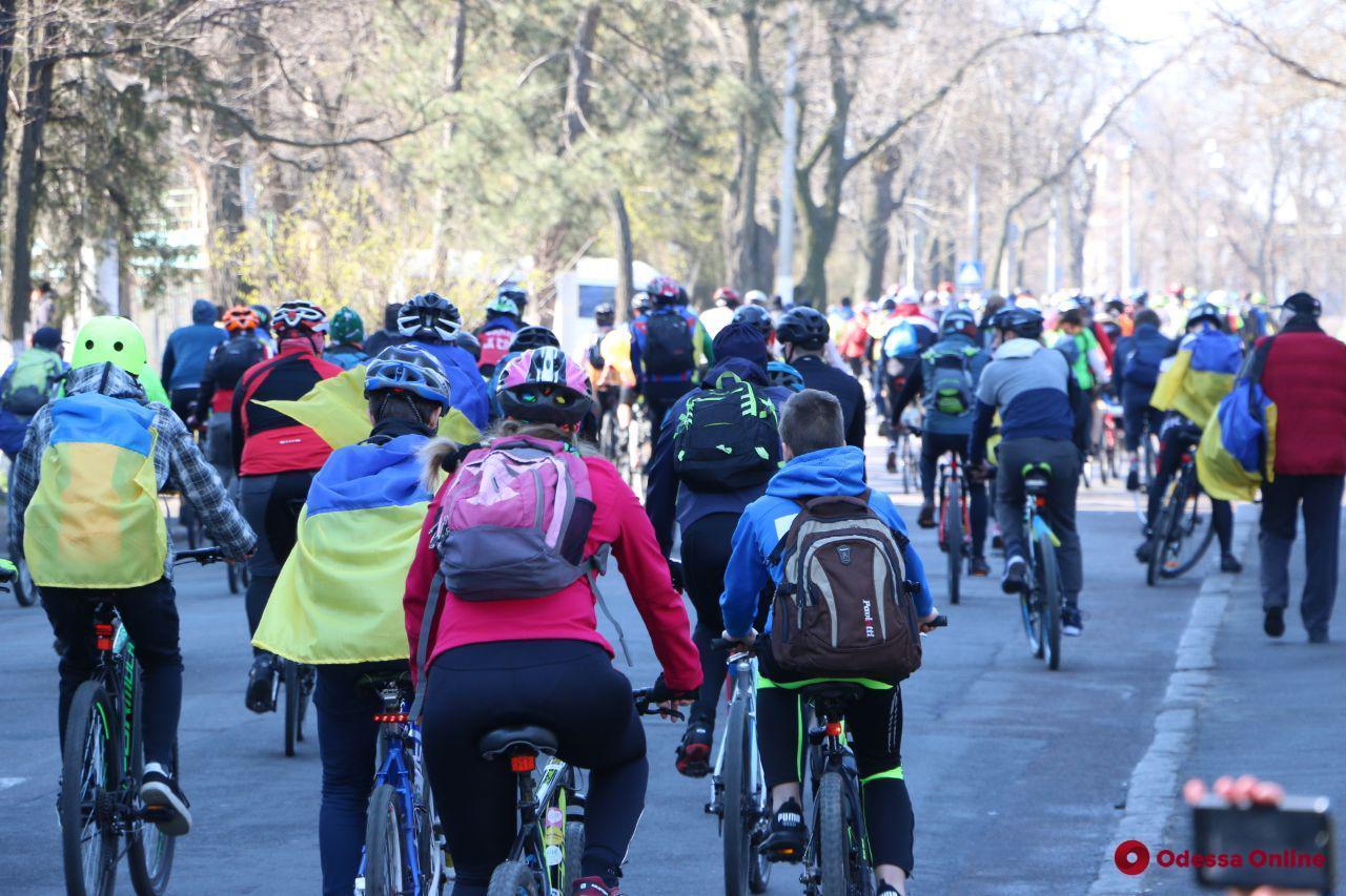 Одесскую велосотку перенесли из-за карантина