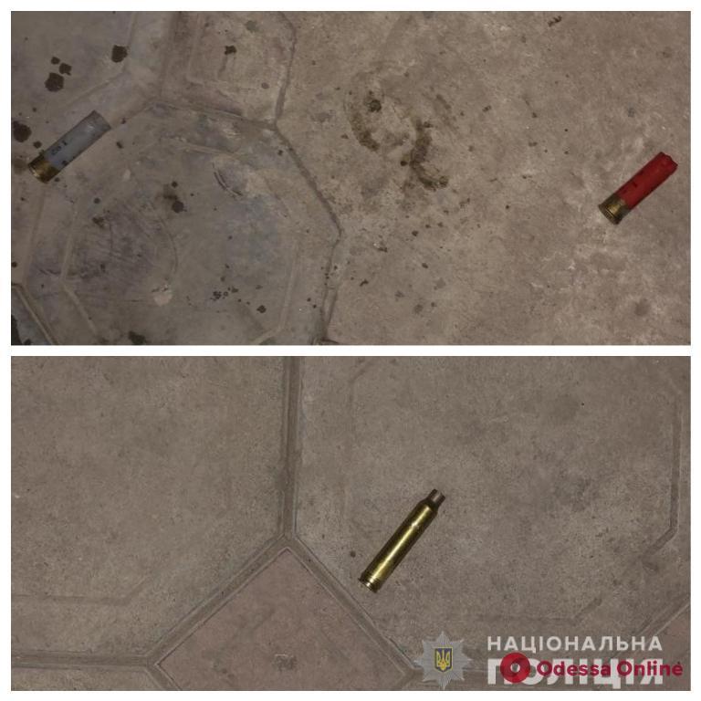 На Фонтане одессит устроил стрельбу во дворе своего дома