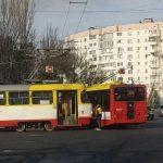 В Одессе из-за ДТП заблокировано движение 5-ти трамвайных маршрутов