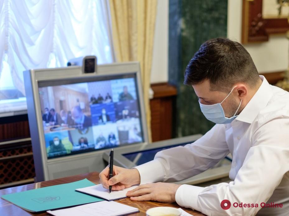 Зеленский: «Уменьшение количества заболевших коронавирусом — это результат карантина»