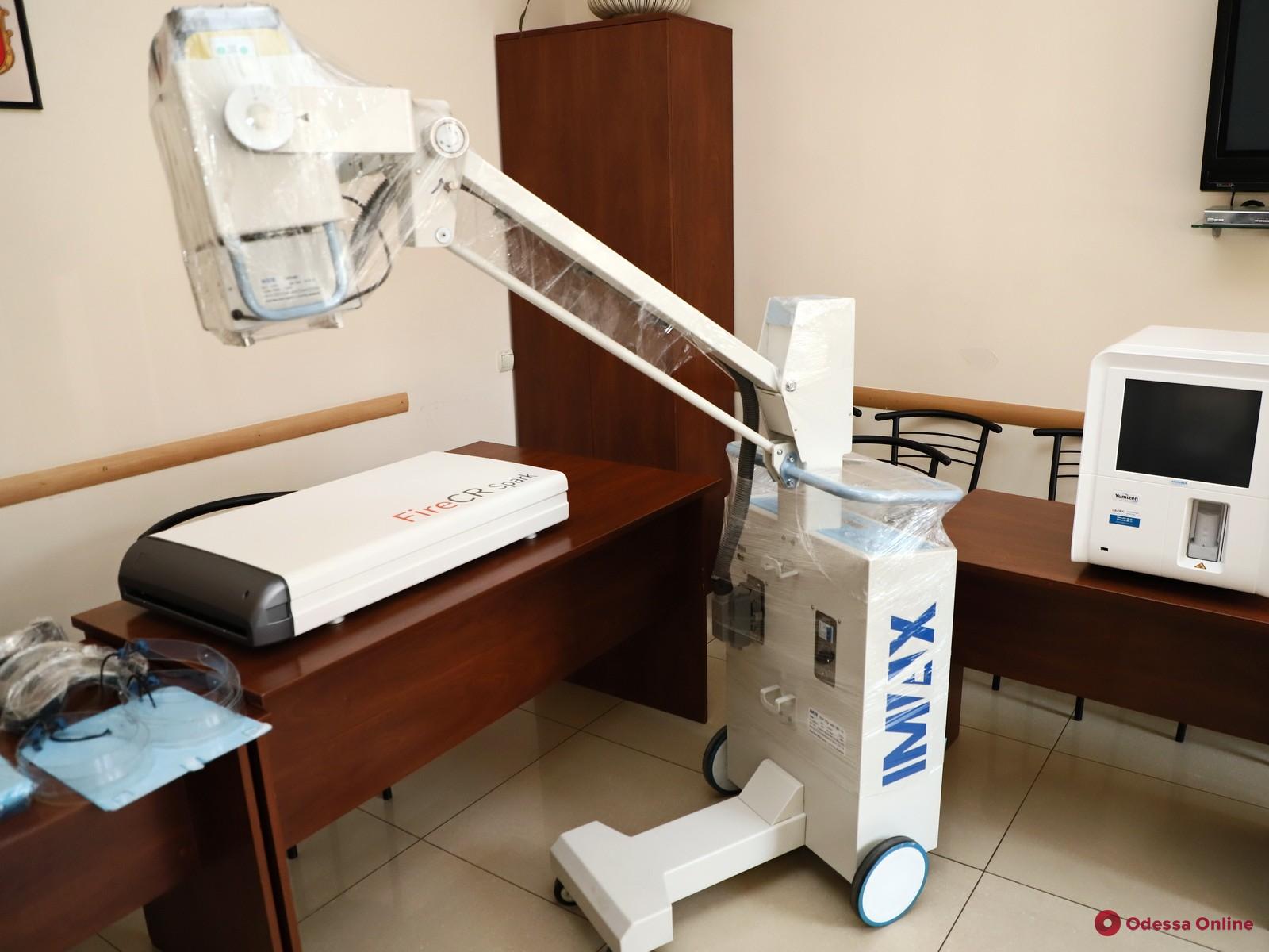 Для одесского роддома №2 купили рентген-аппарат