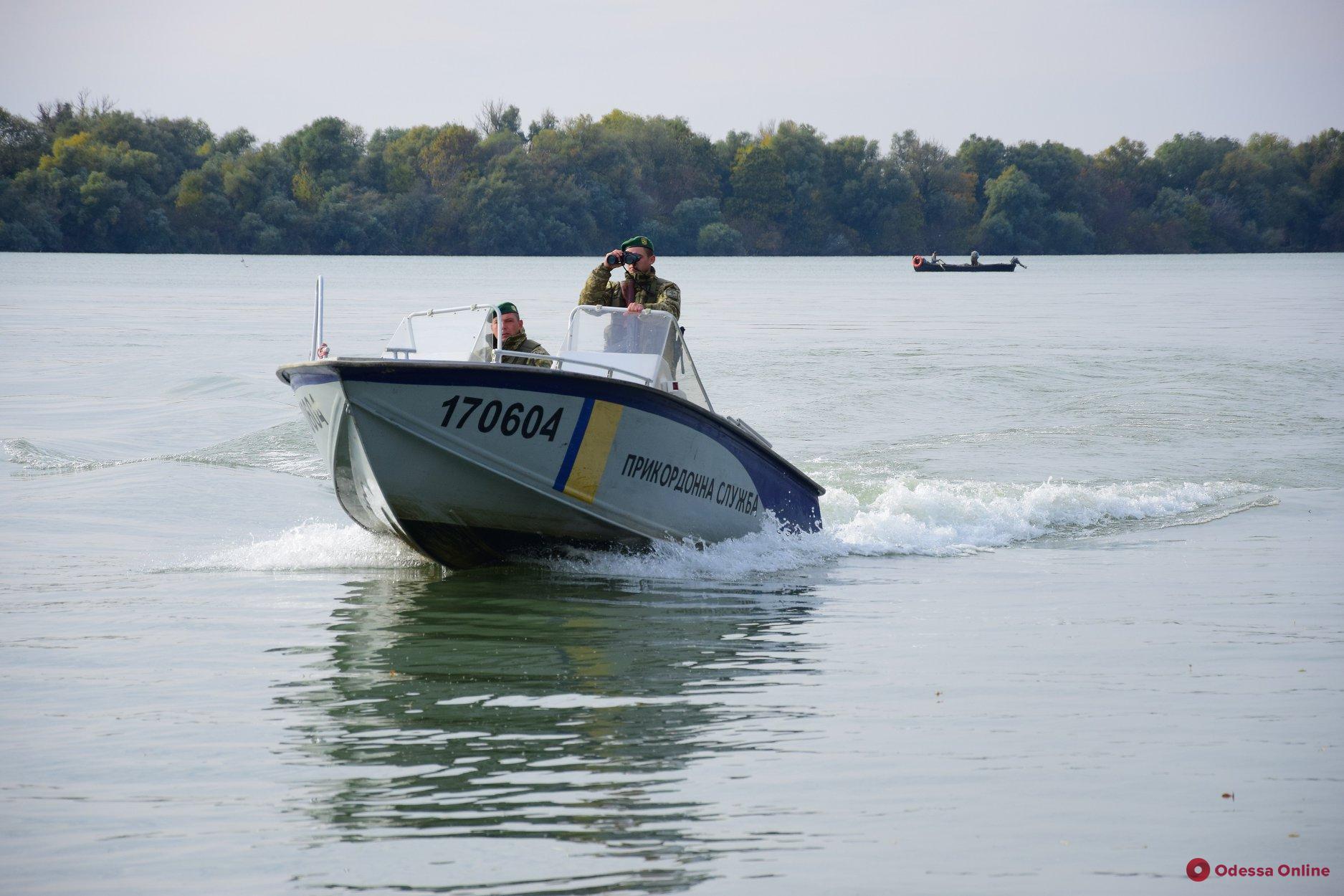 На Дунае пограничники помешали рыбакам выловить краснокнижных севрюг (видео)
