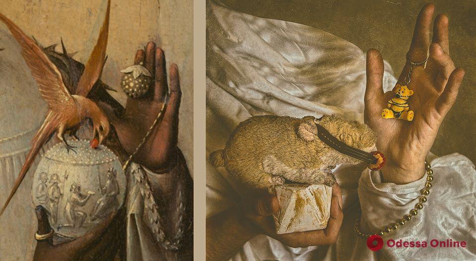 Платья-подушки, пародии на картины и обмен образами: одесситы принимают участие в карантинных флешмобах