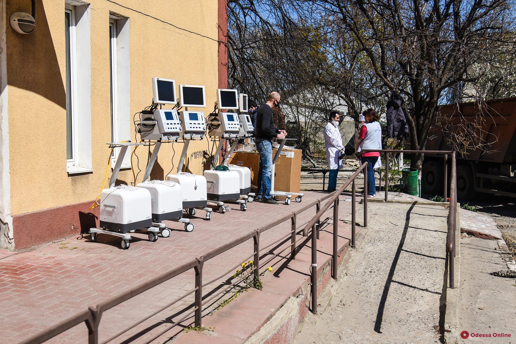 Одесса купила восемь новых аппаратов ИВЛ (фото)