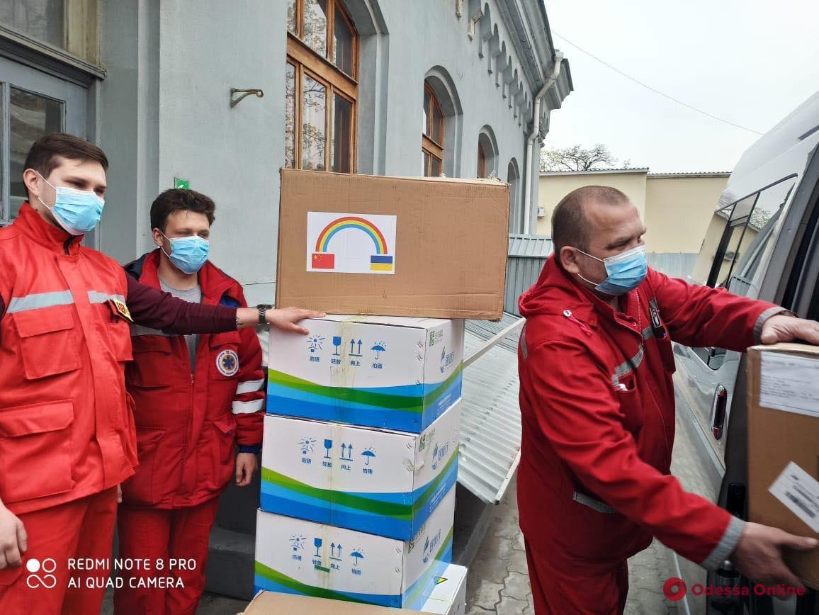 Одесская область получила от Минздрава защитные костюмы для медиков и экспресс-тесты на Covid-19
