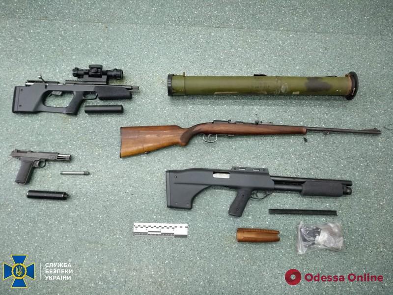 У фигуранта по делу генерал-майора СБУ Шайтанова нашли арсенал оружия и боеприпасов