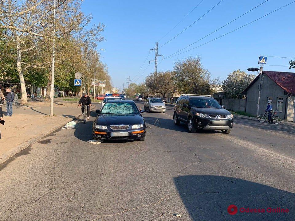 На Маршала Малиновского легковушка сбила пешехода