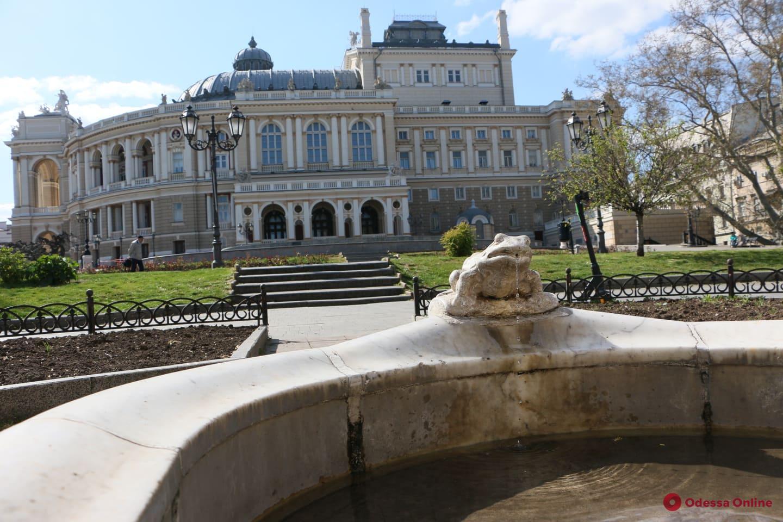 С 1 апреля в Одессе начнут запускать фонтаны