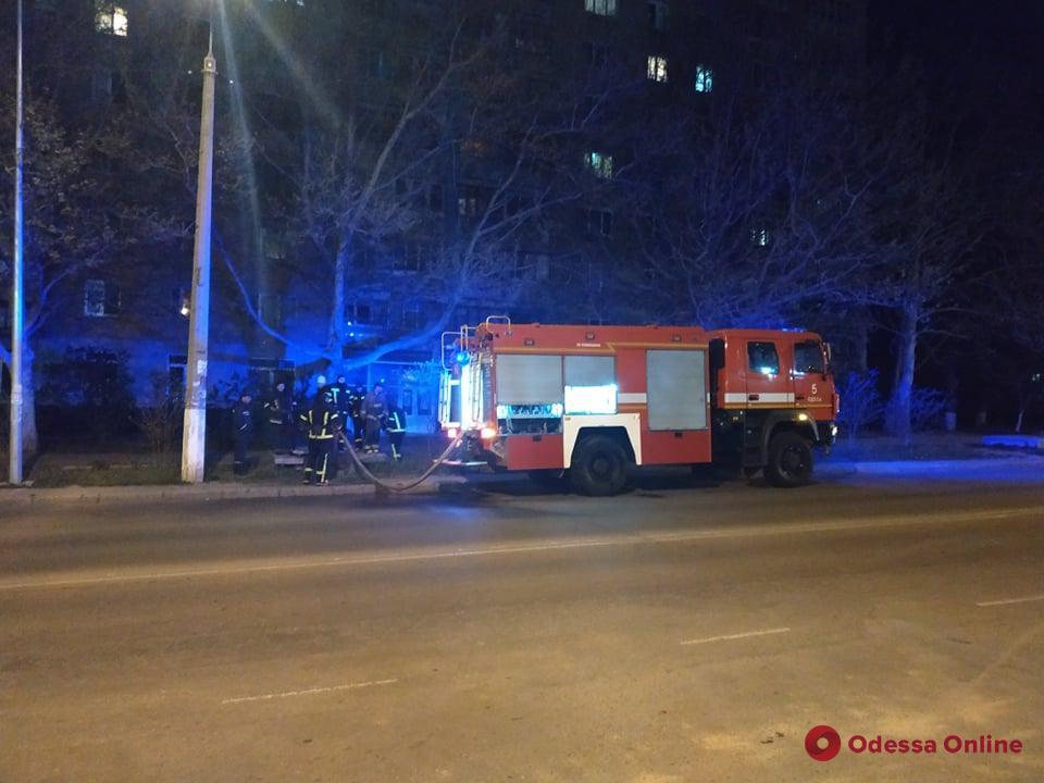 В многоэтажке на поселке Котовского горела квартира