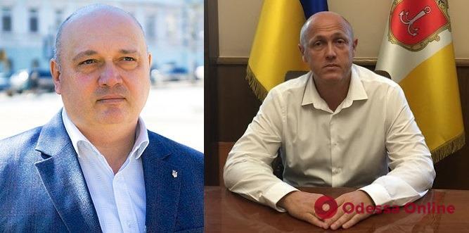 На сессии Одесского горсовета уволили двух вице-мэров