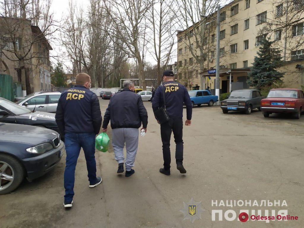В Одессе задержали «вора в законе» из РФ (фото, видео)
