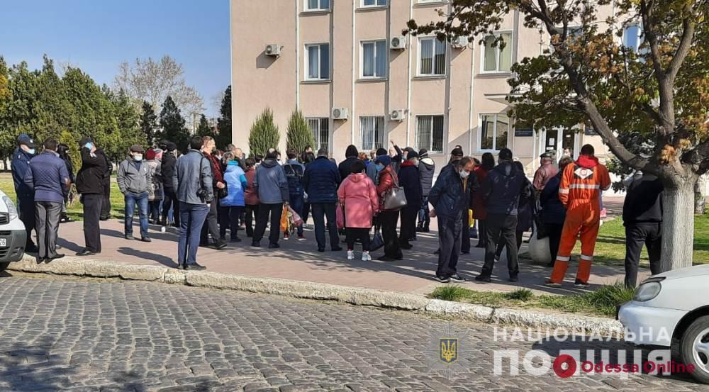 В Белгороде-Днестровском предприниматели митинговали против закрытия центрального рынка