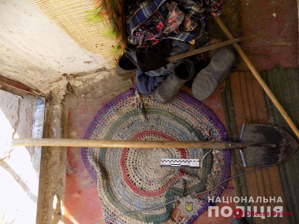 Житель Одесской области проломил отчиму голову лопатой из-за водки