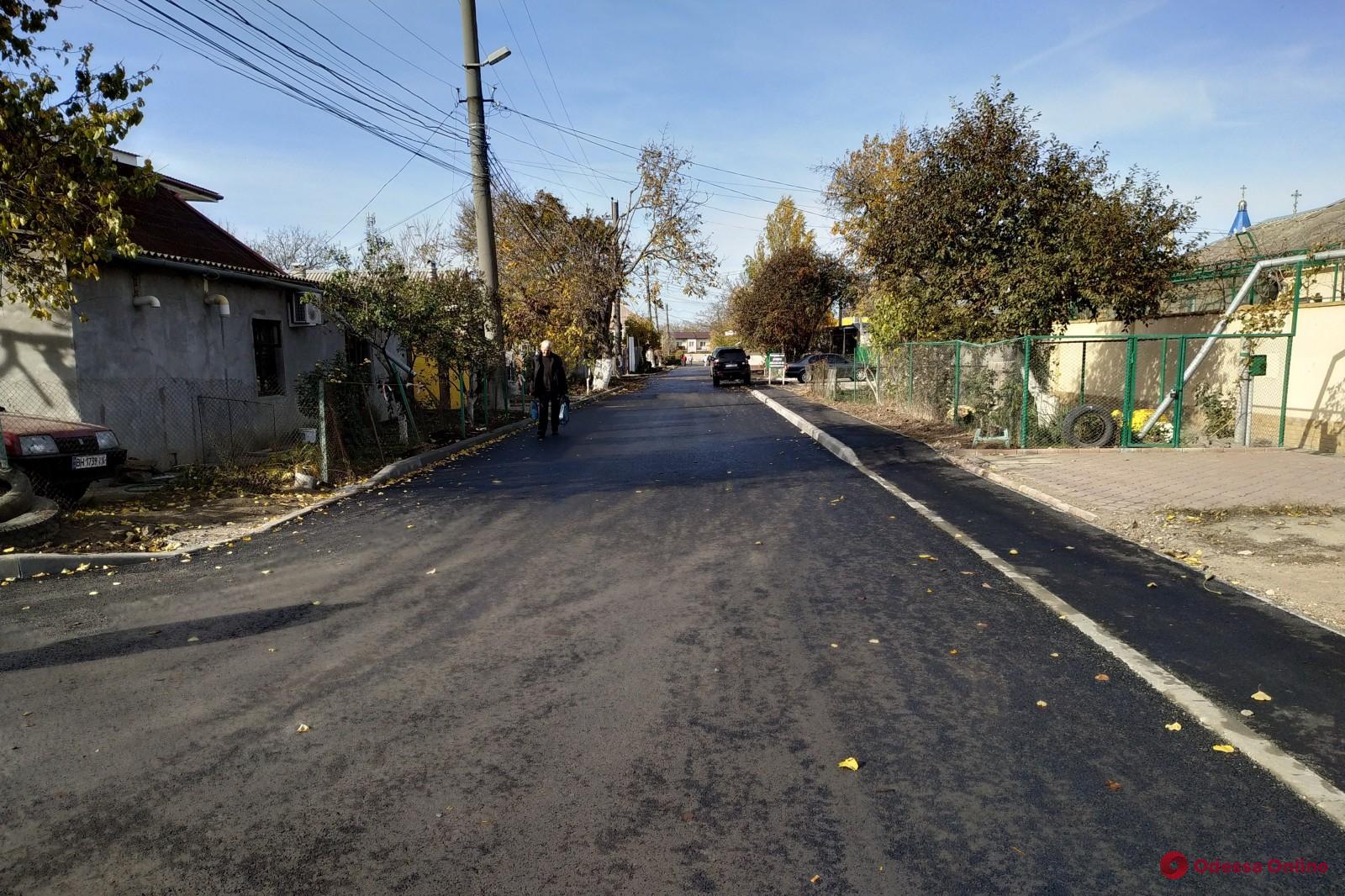 В Одессе ремонтируют улицу Луценко