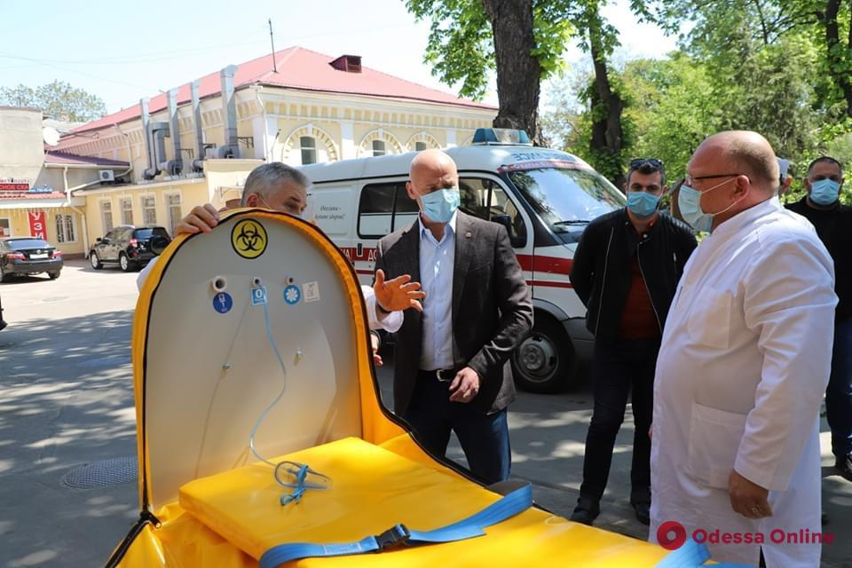 Геннадий Труханов встретился с врачами Еврейской больницы