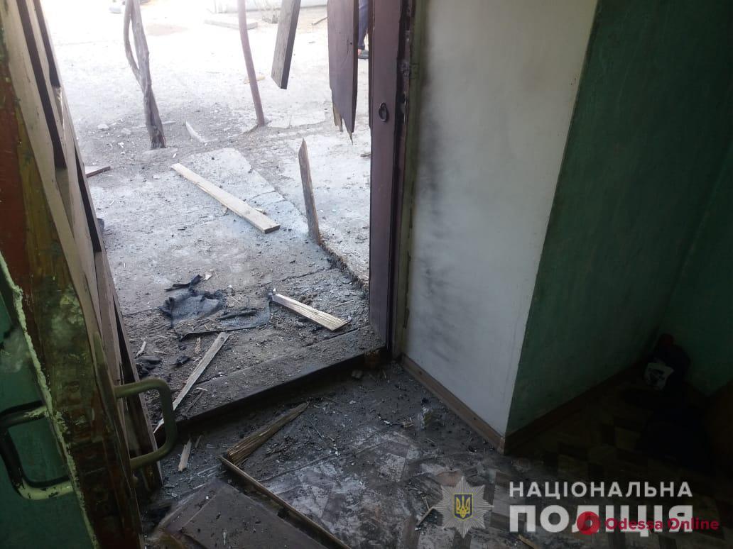 В Одесской области во дворе частного дома прогремел взрыв