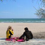 Одесса. Карантин. Неделя шестая (фоторепортаж) море погода