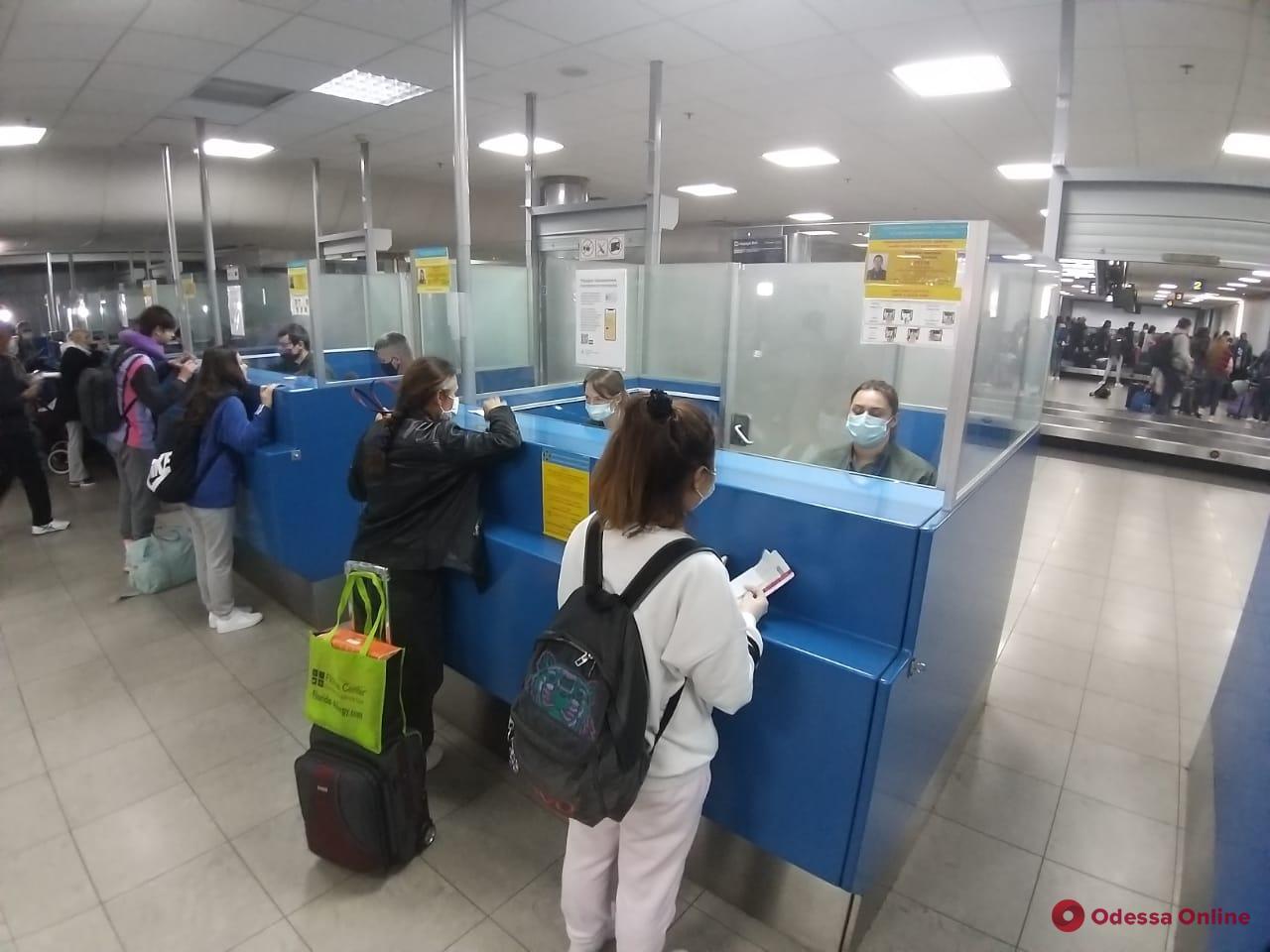 В Борисполь прибыл самолет с эвакуированными из США украинцами