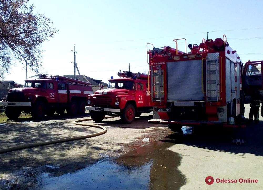 В Одесской области на пепелище нашли тело погибшего мужчины