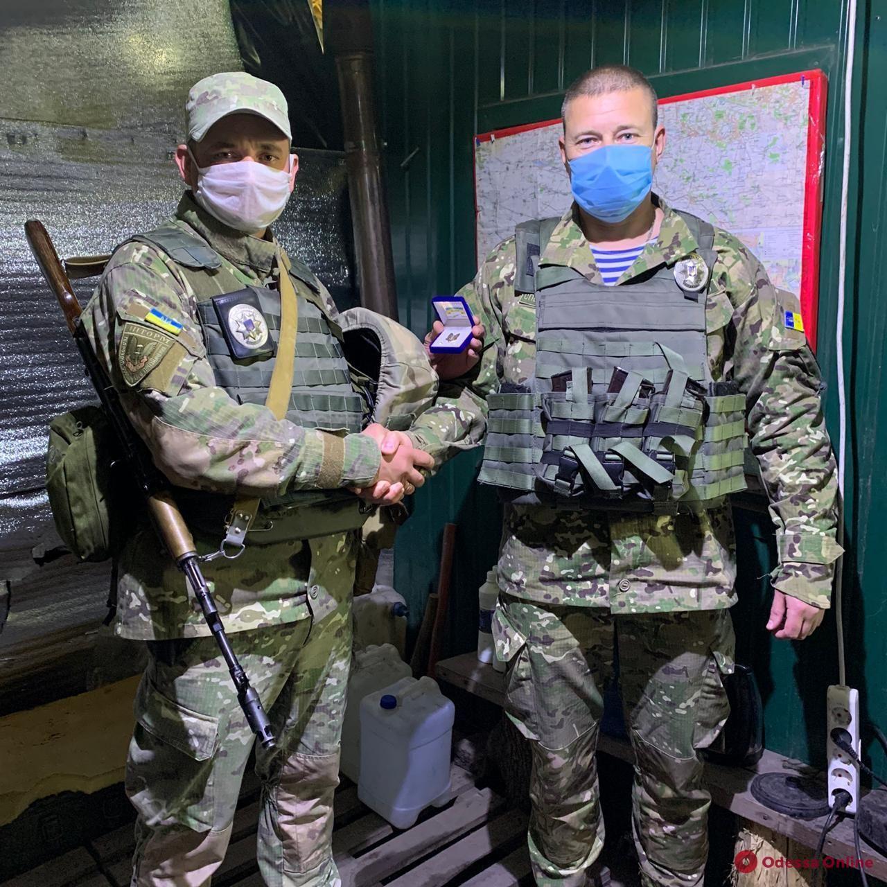 Одесским спецназовцам вручили награды по случаю шестого дня рождения батальона «Шторм» (фото)