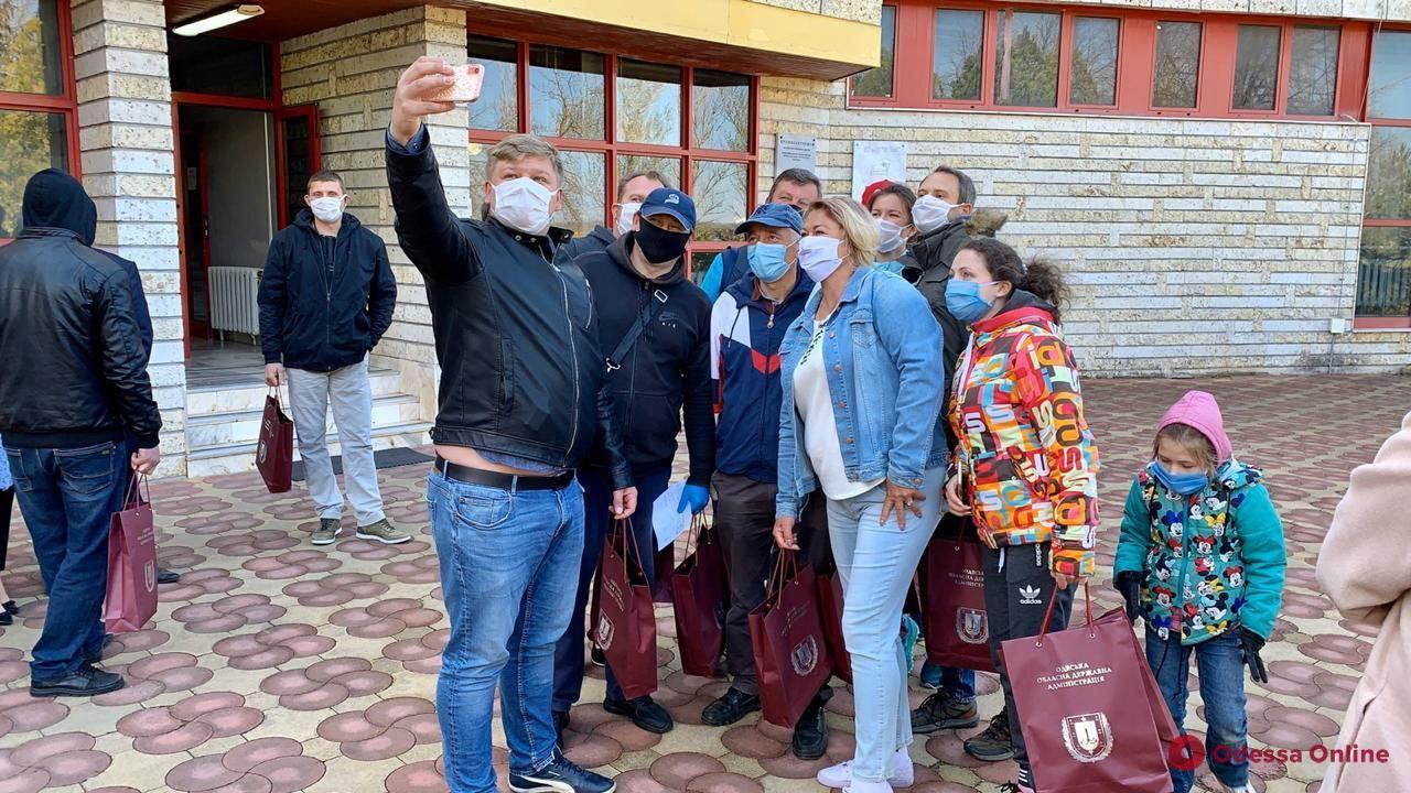 В Одесской области закончилась обсервация прибывших из Грузии украинцев