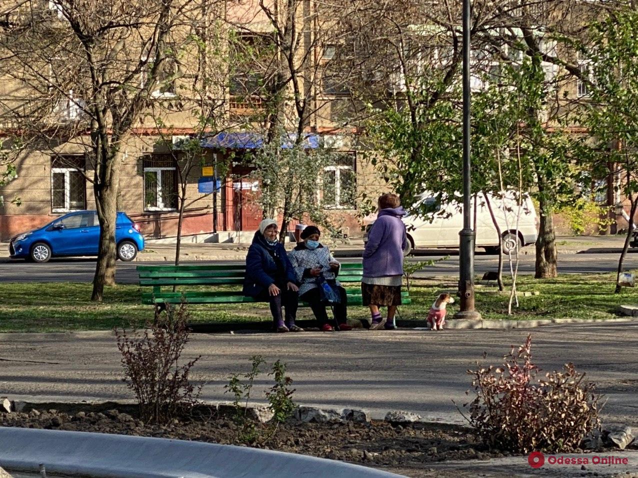 Одесса. Карантин. Неделя пятая (фоторепортаж)
