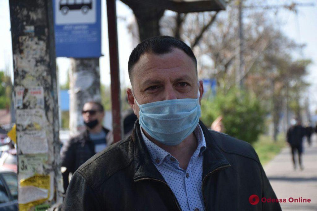 Одесские предприниматели устроили автопробег против закрытия рынков (фото, видео)