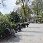 Одесса. Карантин. Неделя шестая (фоторепортаж) погода горсад