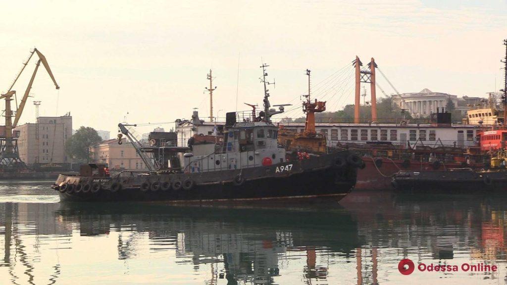 Поврежденный россиянами буксир «Яны Капу» после частичного ремонта вернулся в Одессу