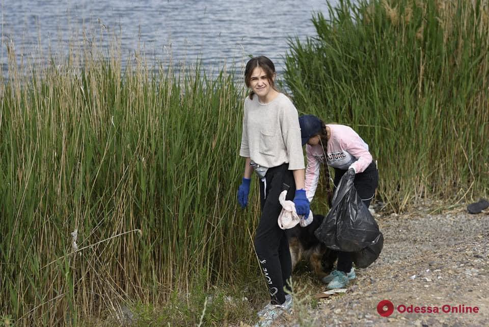 Сделать мир чище: под Одессой прошла экологическая акция