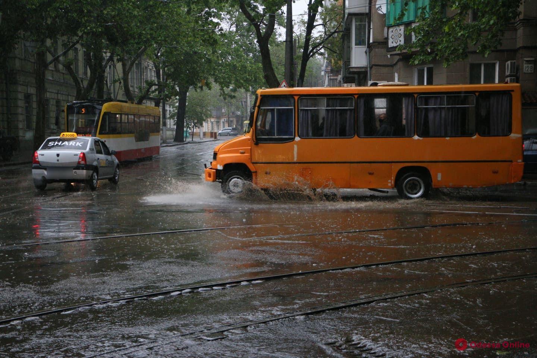 В Одессе за несколько часов выпало рекордное количество осадков