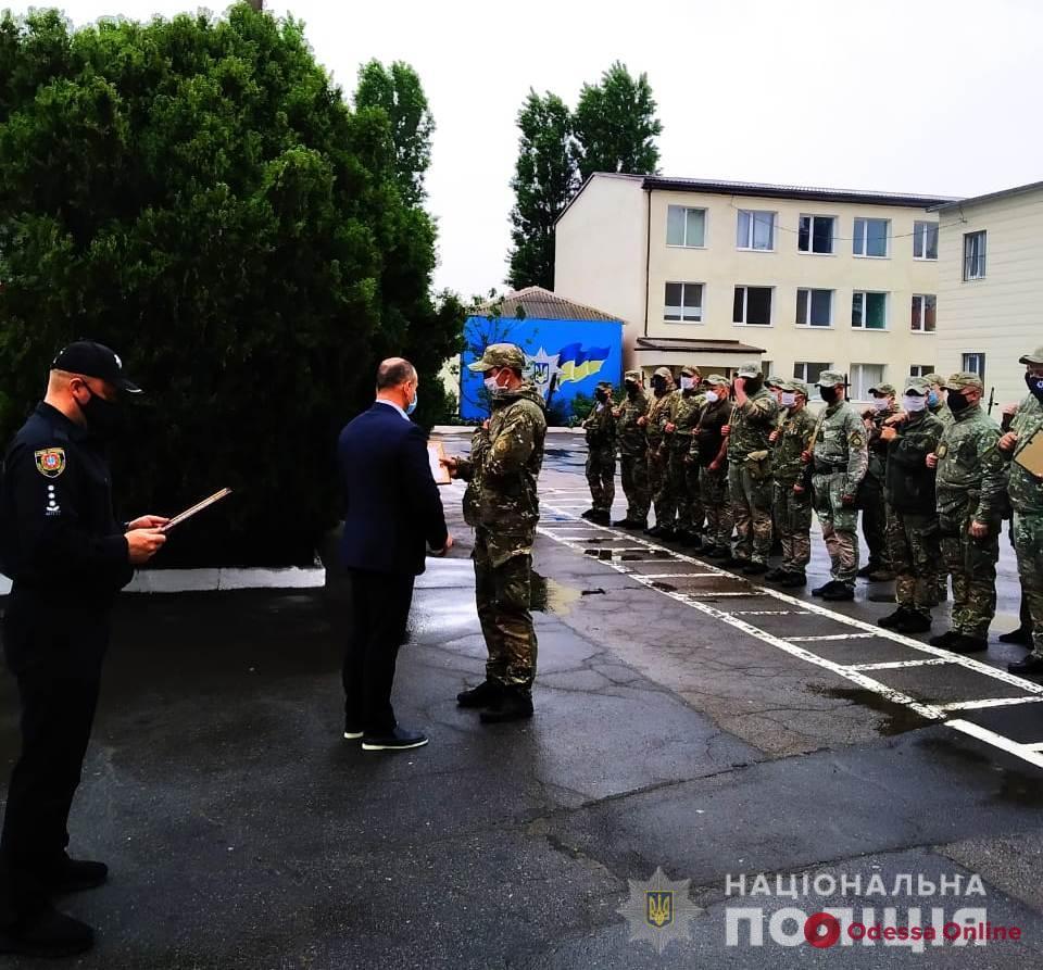 В Одессе наградили вернувшихся из зоны ООС бойцов батальона «Шторм»