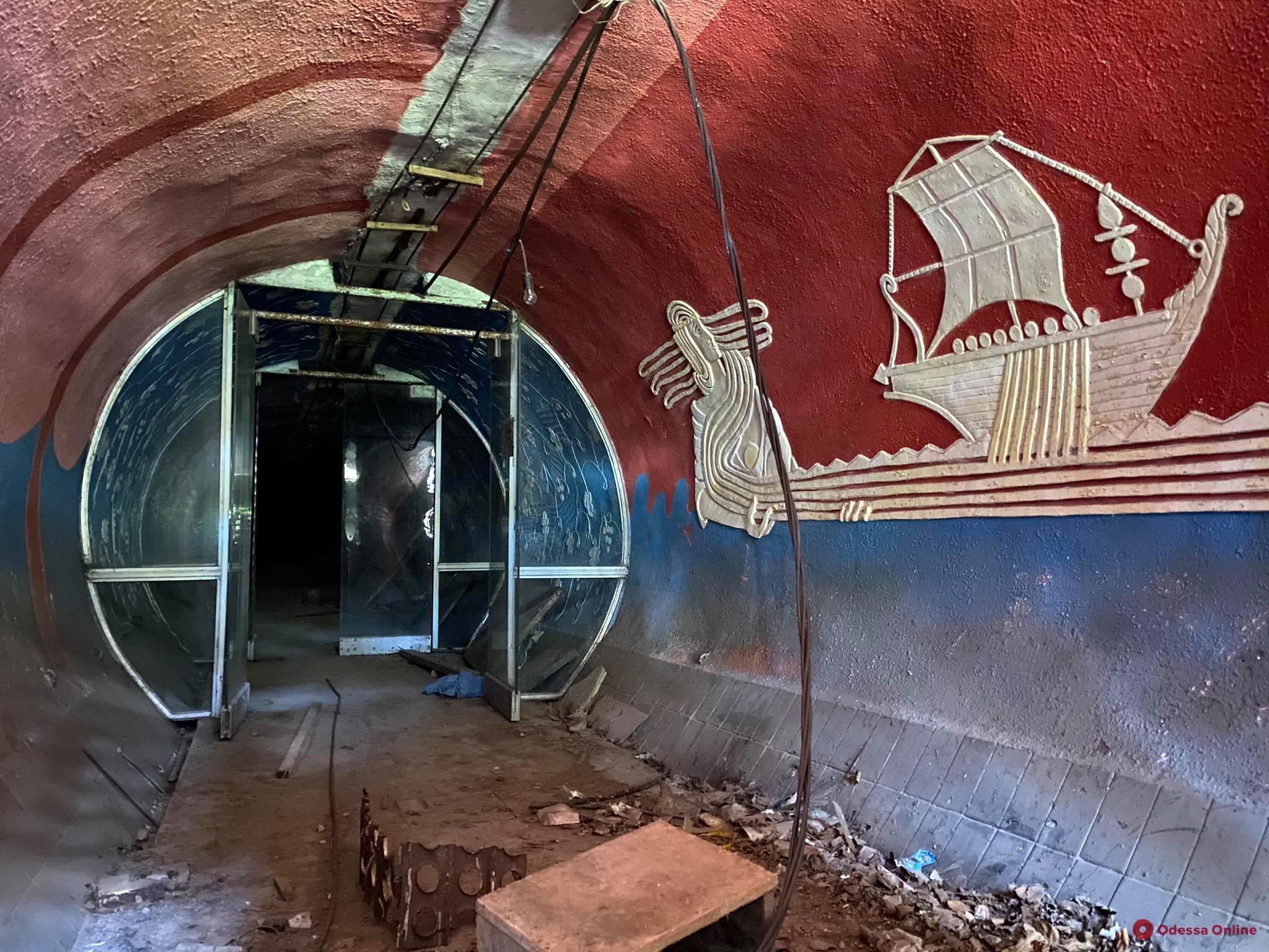 Сказочный тоннель: кадры, вызывающие ностальгию у одесситов