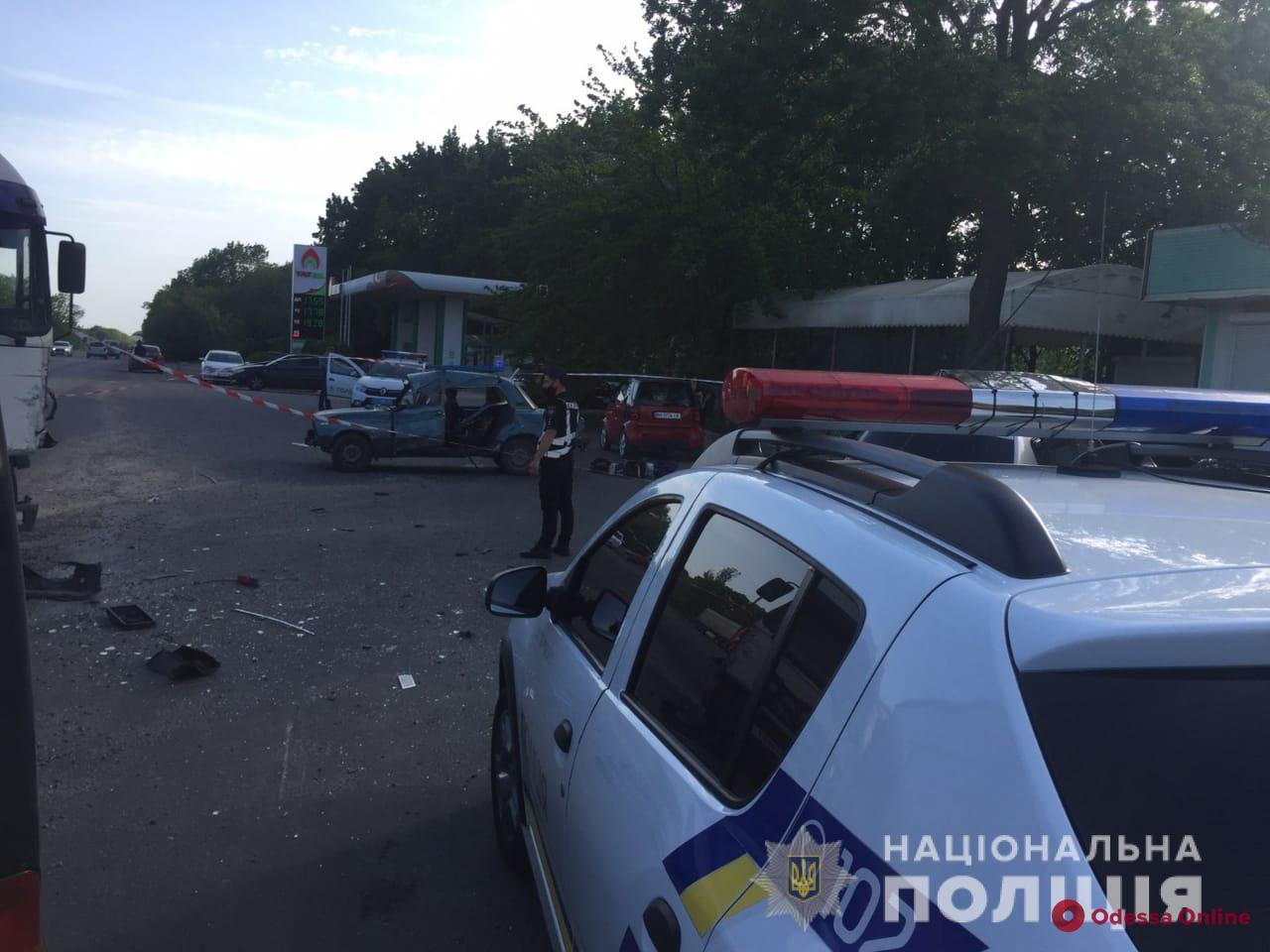 В Овидиопольском районе произошло смертельное ДТП