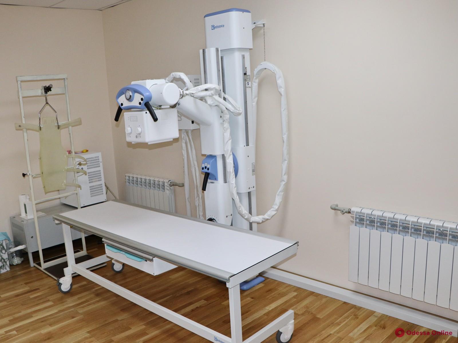 Одесский детский диагностический центр получил рентген-аппарат
