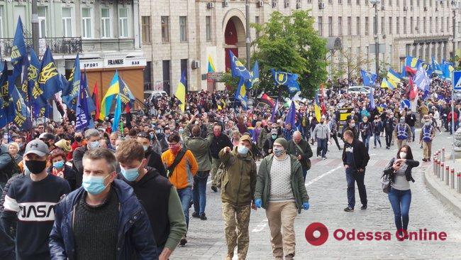 В Одессе прошла акция «Стоп реванш!»